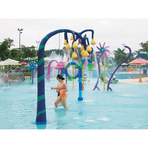 吊花戏水喷水设备