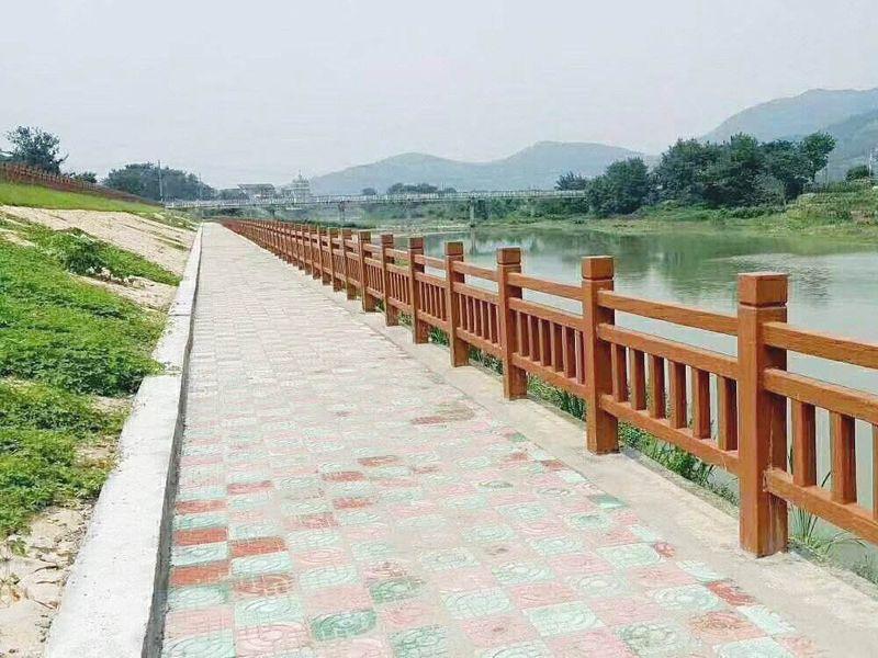 仿木护栏桥梁河道栏杆