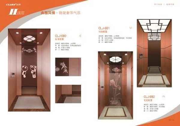 CLJ-098时尚别墅电梯