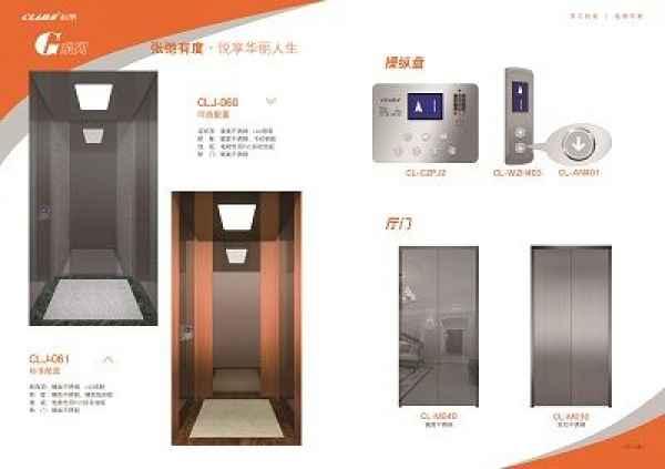 CLJ-092豪华家用别墅电梯