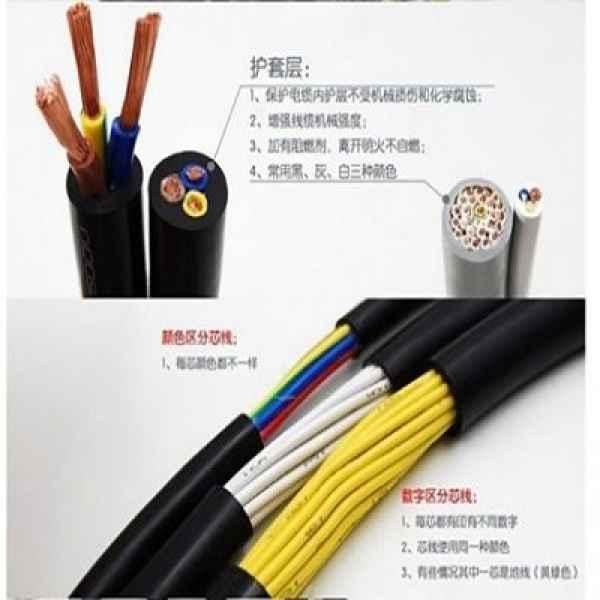 RVV护套软电线控制电缆