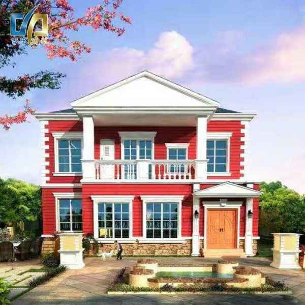 长春多窗好二层视野轻钢别墅开发商的海南岛别墅图片