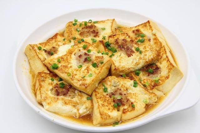湖南煎让山水豆腐