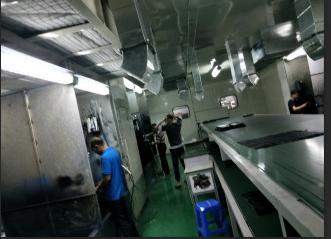 中山送风系统喷涂线生产厂家