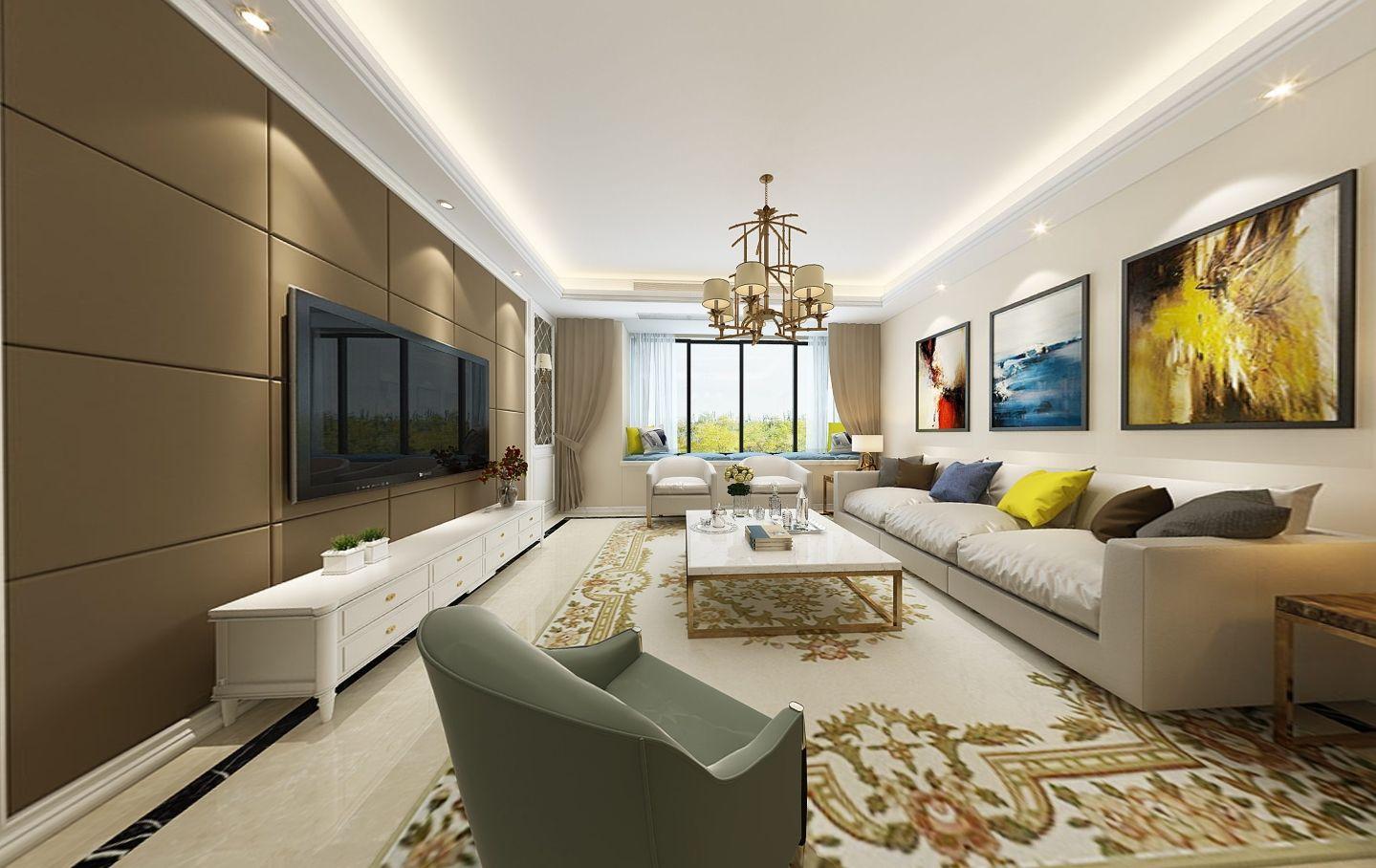 黃岡客廳墻面設計 客廳墻面設計價格