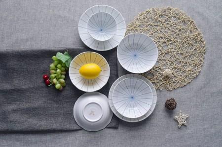 和彩陶瓷餐具