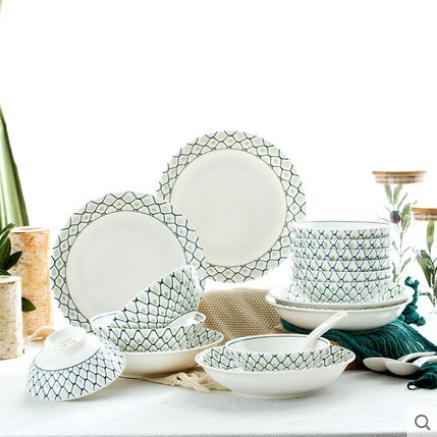 日式陶瓷餐具套装多少钱