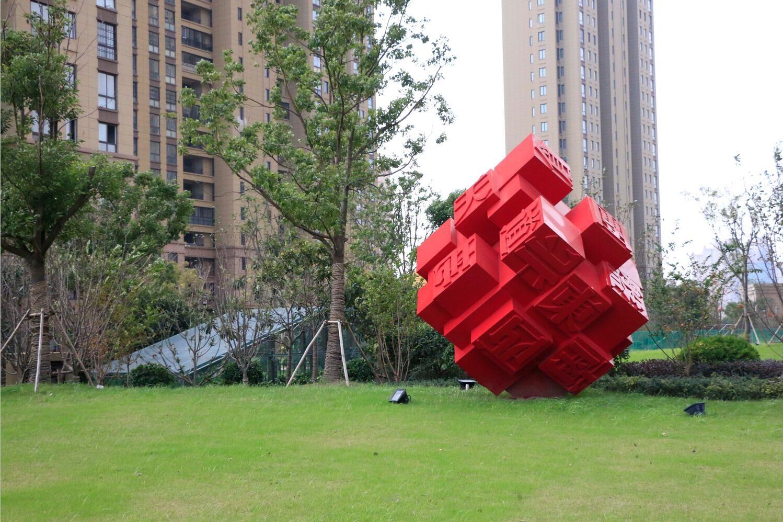 艺林房地产景观雕塑设计