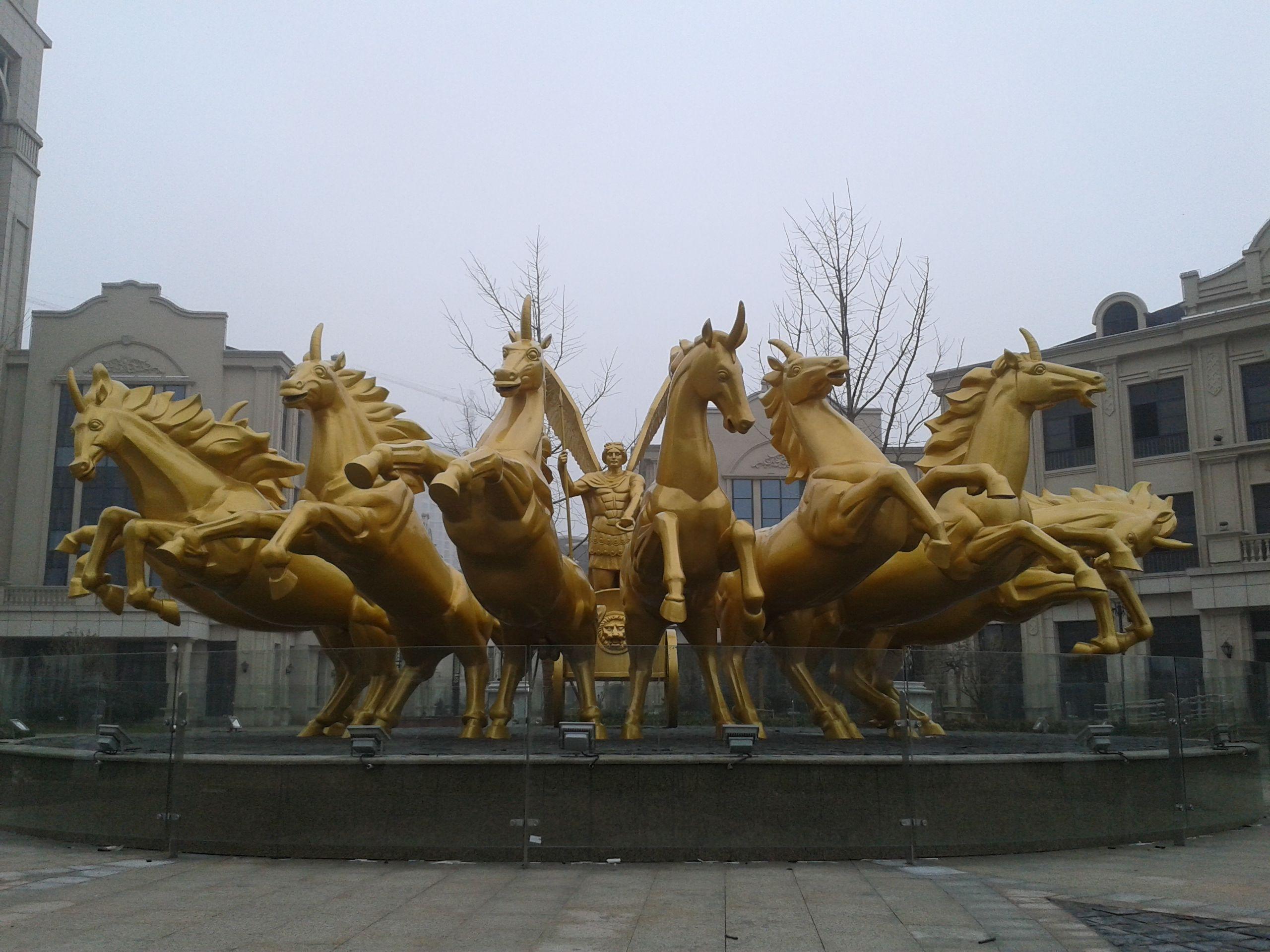 安徽艺林商业广场雕塑供应商