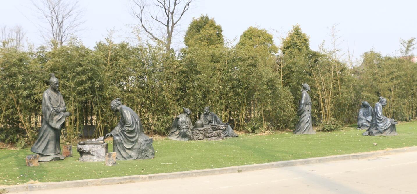 江苏艺林铸铜人物雕塑供应商