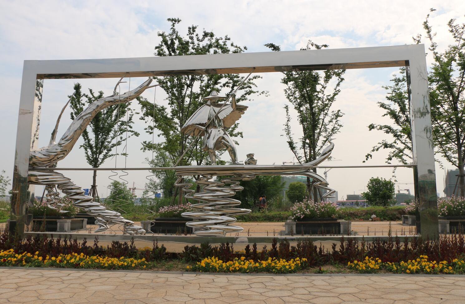 主題景觀帶雕塑設計價格