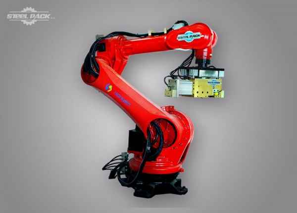 全自动钢卷拆捆带机器人价格