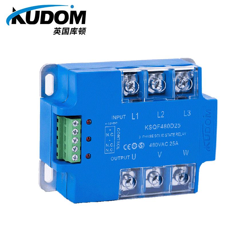 江苏KUDOM库顿KSQF系列三相交流输出型固态继电器供应