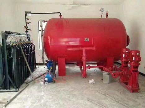 气体顶压消防给水设备多少钱