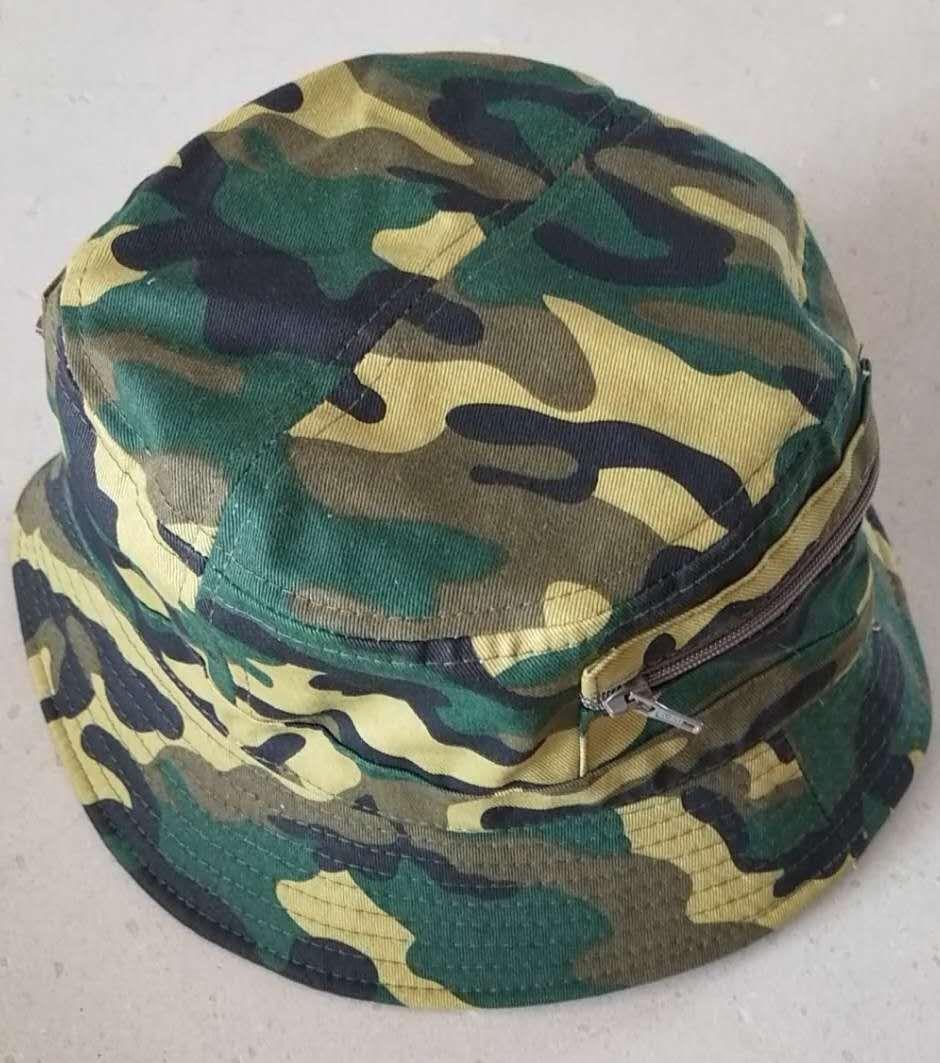 胶州迷彩渔夫帽