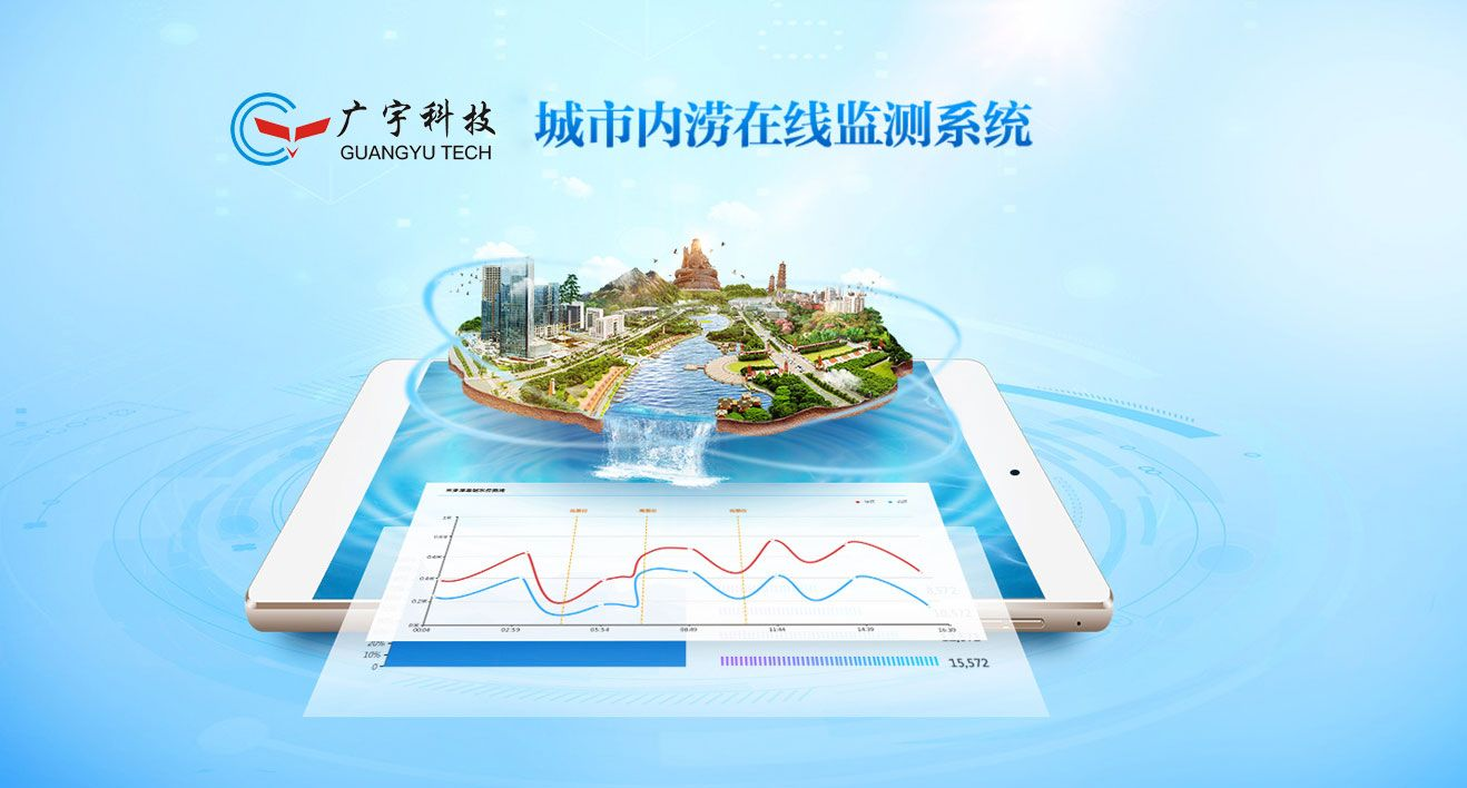 佛山廣宇城市內澇在線監測系統