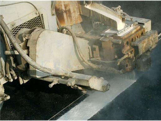 热熔喷涂道路标线施工工艺