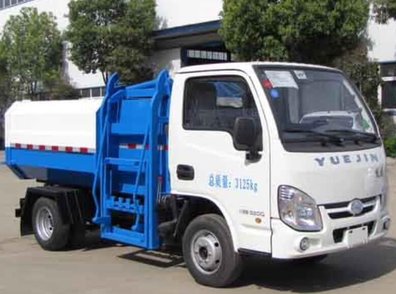 福建自装卸式垃圾车市场价格