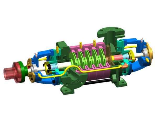 高温高压多级泵配件