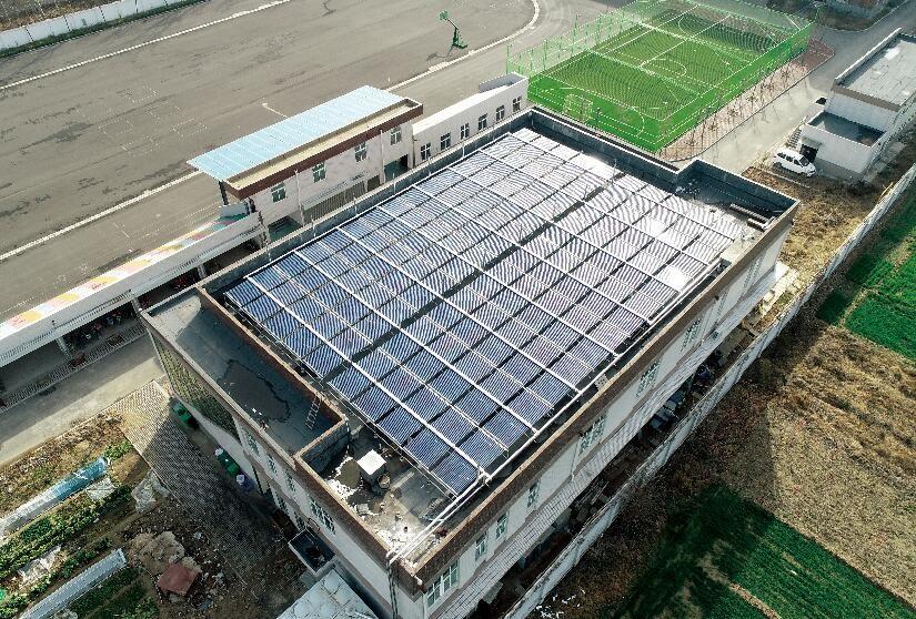北京真空管熱水系統設計