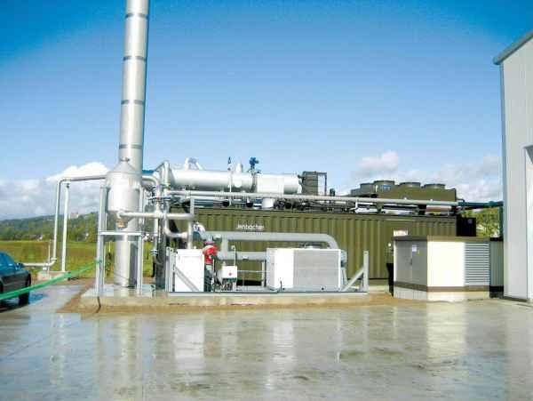 山西污水处理气发电机组
