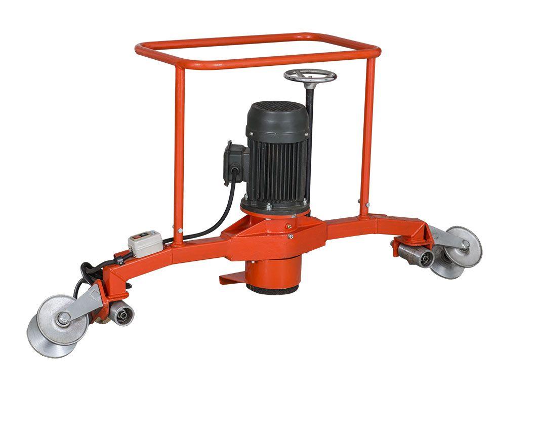 电动仿形钢轨打磨机