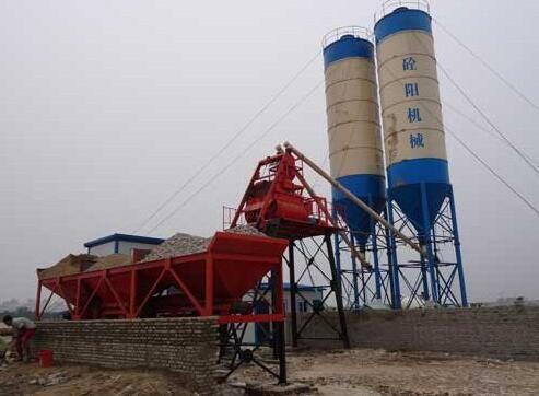 江苏HZS35混凝土搅拌站批发价