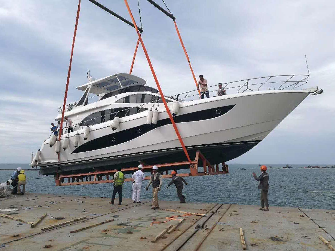专业承接大型游艇运输