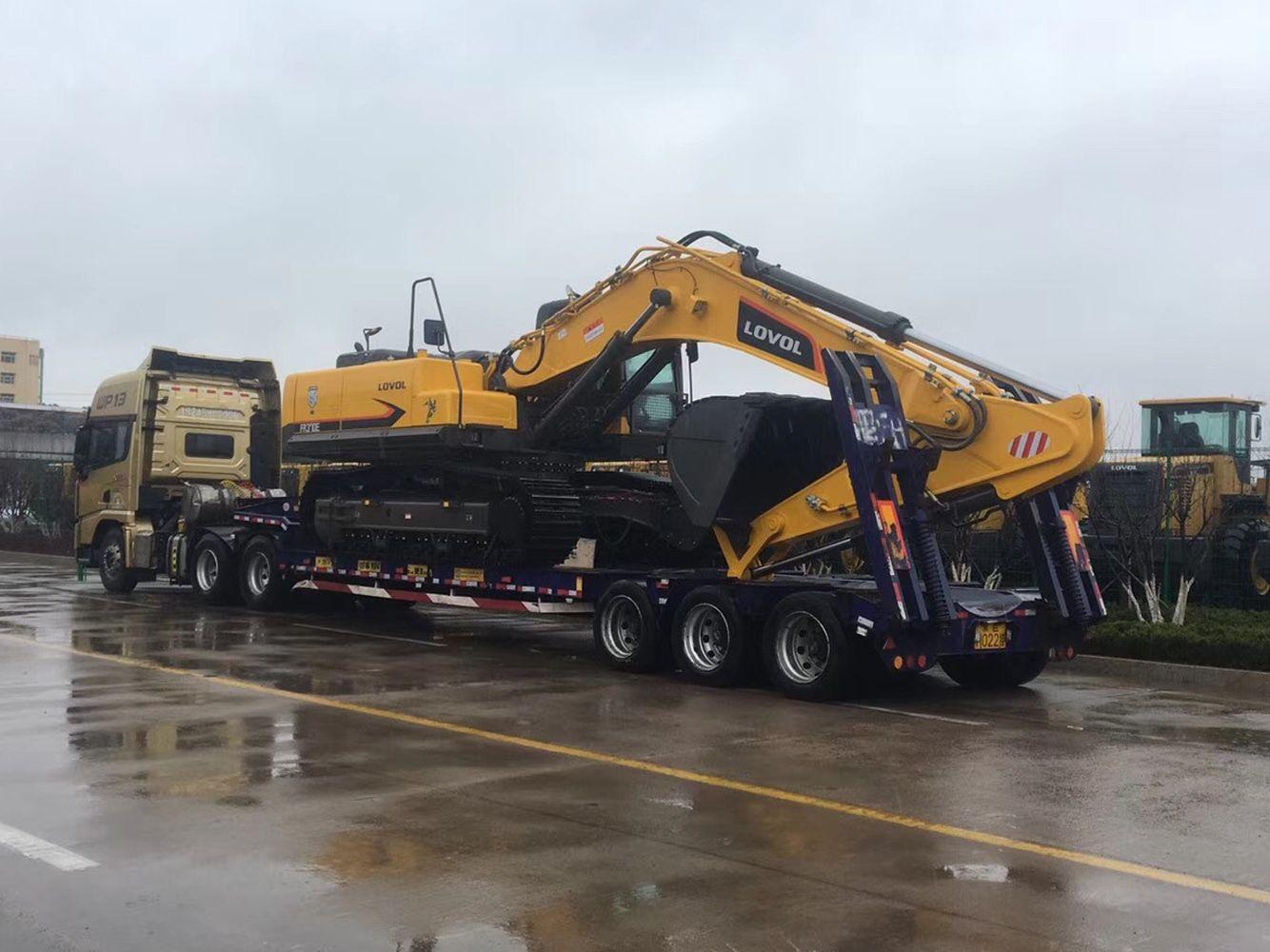 承接挖掘機運輸