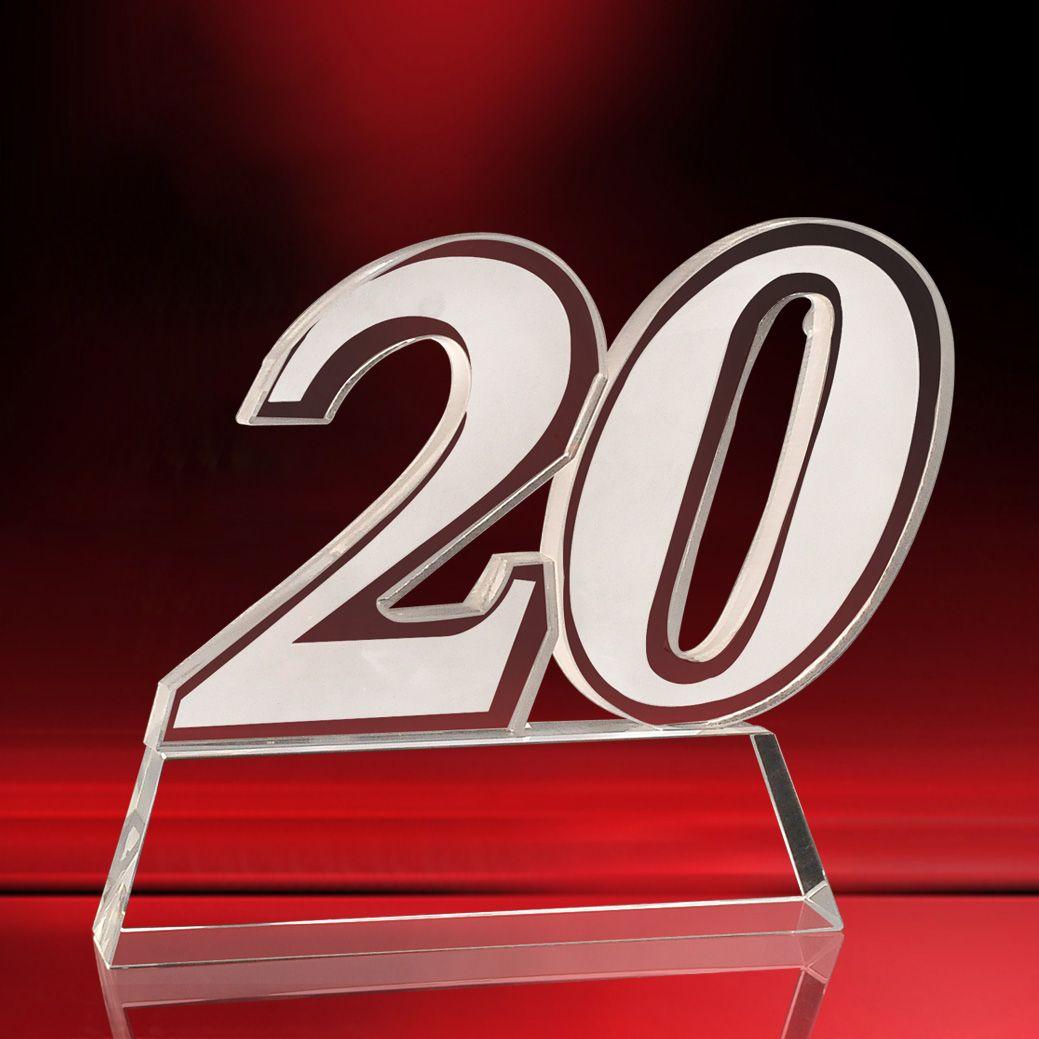 廣州20周年獎杯定做