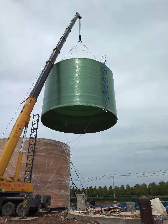 玻璃钢外缠大型储罐制造厂