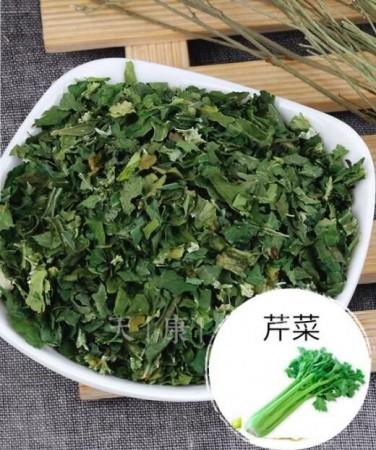 芹菜茎叶干蔬菜干