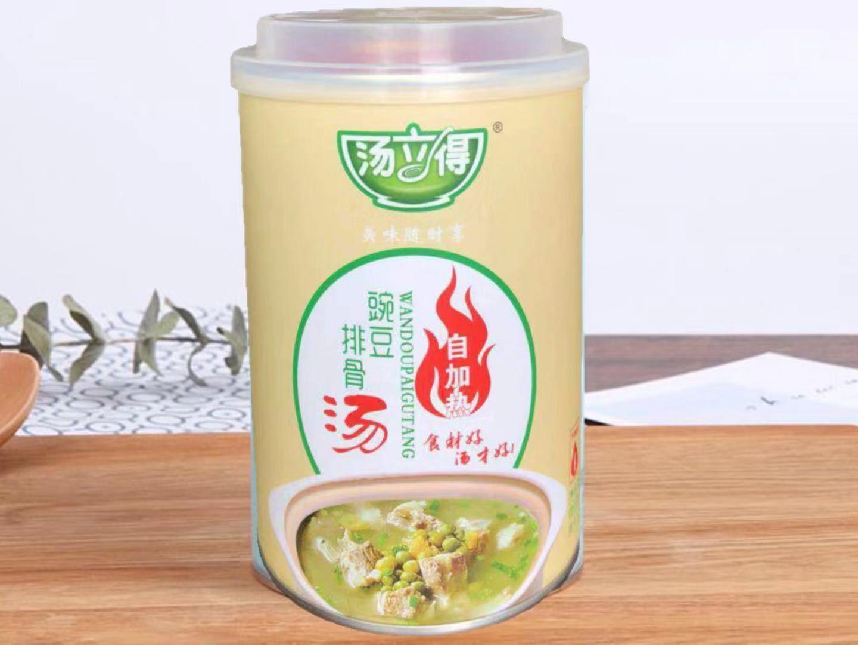 湯立得自加熱豌豆排骨湯