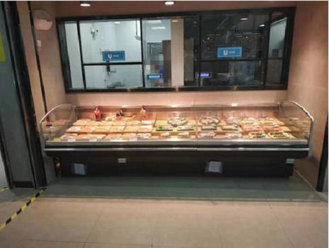 山东平口鲜肉展示柜价格