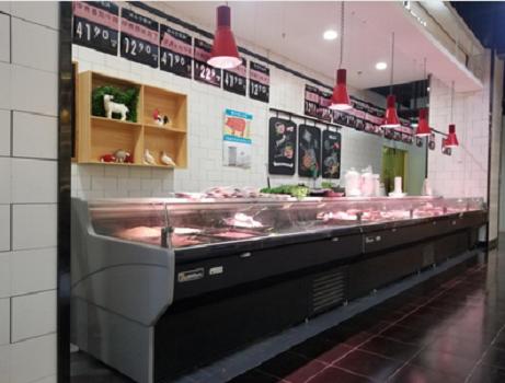 超市风冷鲜肉柜厂家