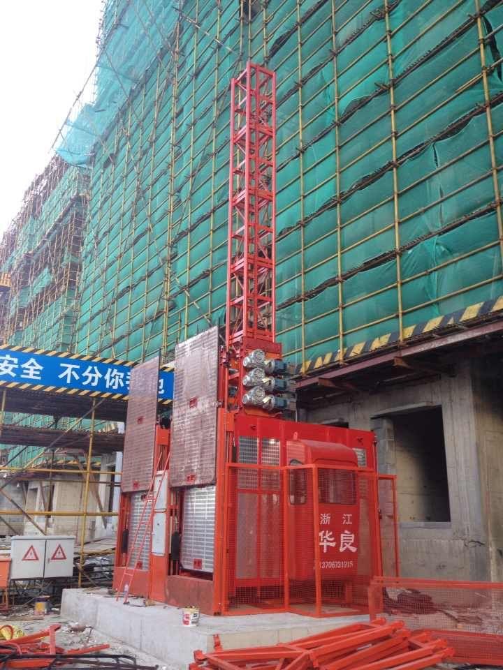 上海施工升降机SC100/100安装