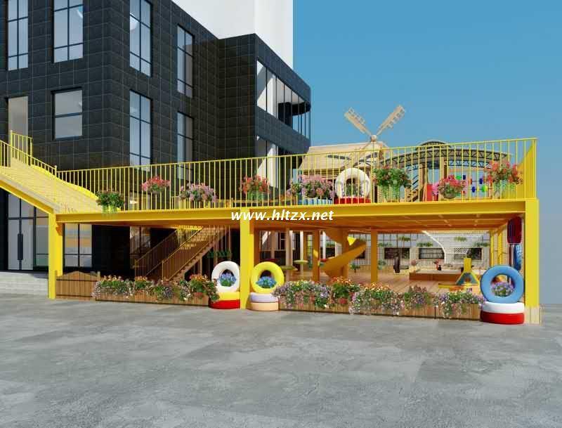 百色市功能室设计:幼儿园装修施工