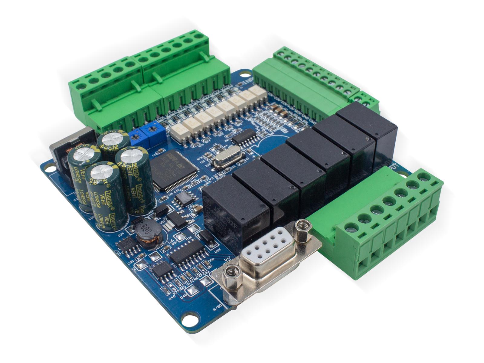 多模擬量高速國產PLC工控板