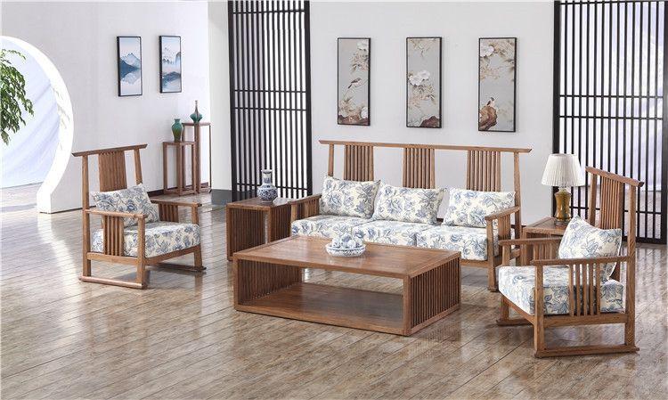 山东新中式简约实木沙发销售价格