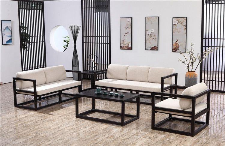 泰安中式客厅组合沙发厂家供应