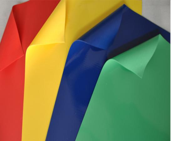 高强涤纶丝双轴向PVC涂层布供应