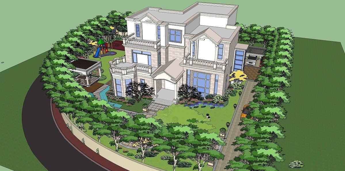 湖南别墅景观设计|别墅景观设计施工