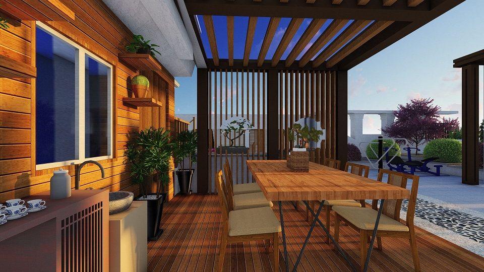 湖南别墅阳台设计公司