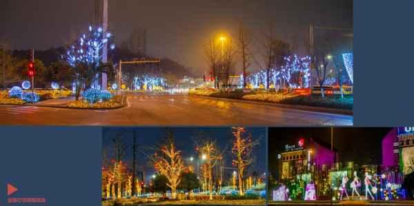 重慶節日燈飾設計安裝