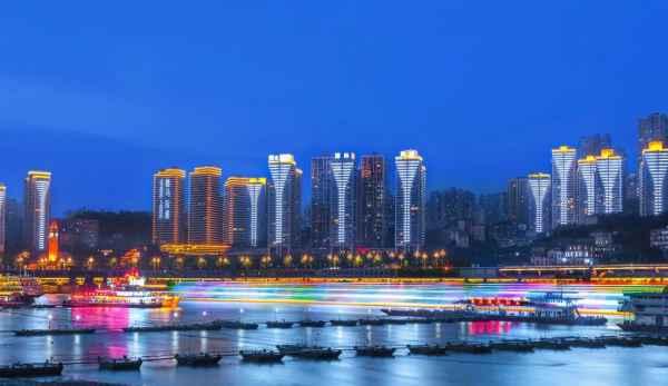 重慶大型樓體聯動夜景亮化工程