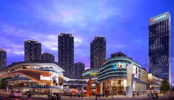 重慶城市綜合體夜景照明