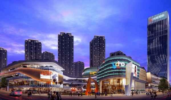 重慶商業街夜景亮化工程
