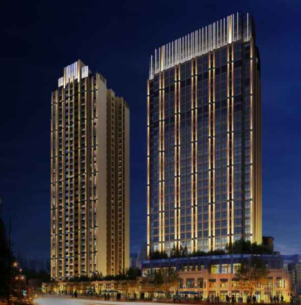 重慶酒店樓宇夜景亮化工程