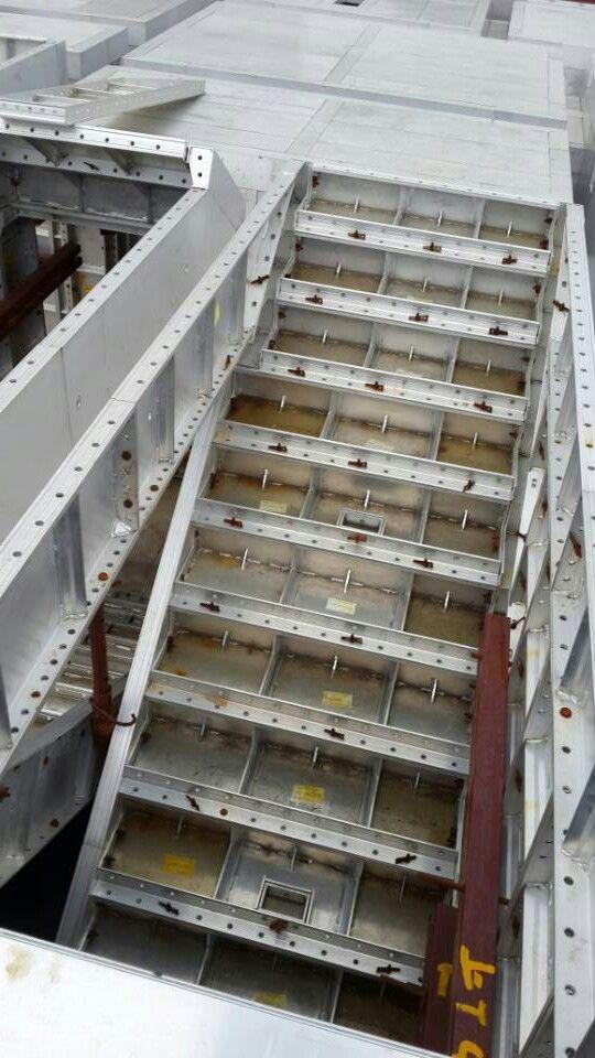 建筑铝合金模板安装方法