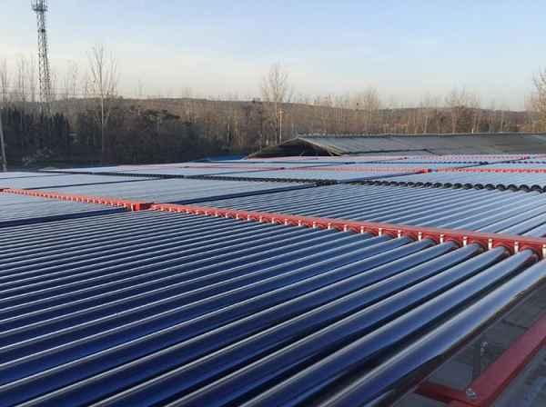 上海真空管型太阳能热水机组